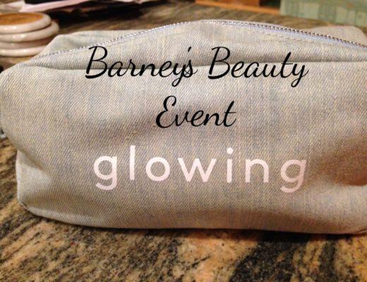 "Barneys Fall 2016 beauty bag ""glowing"" neversaydiebeauty.com"