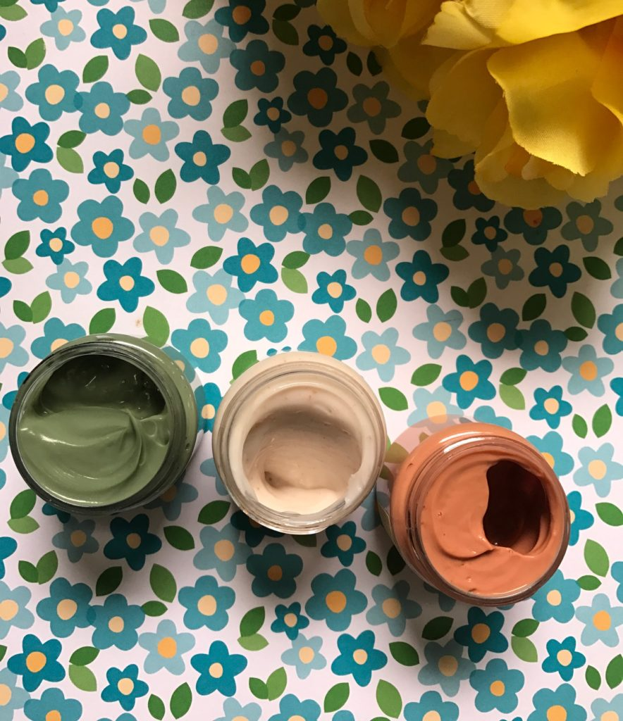 the inside of the jars of FarmHouse Fresh Quick Recovery Facial Mask Sampler neversaydiebeauty.com
