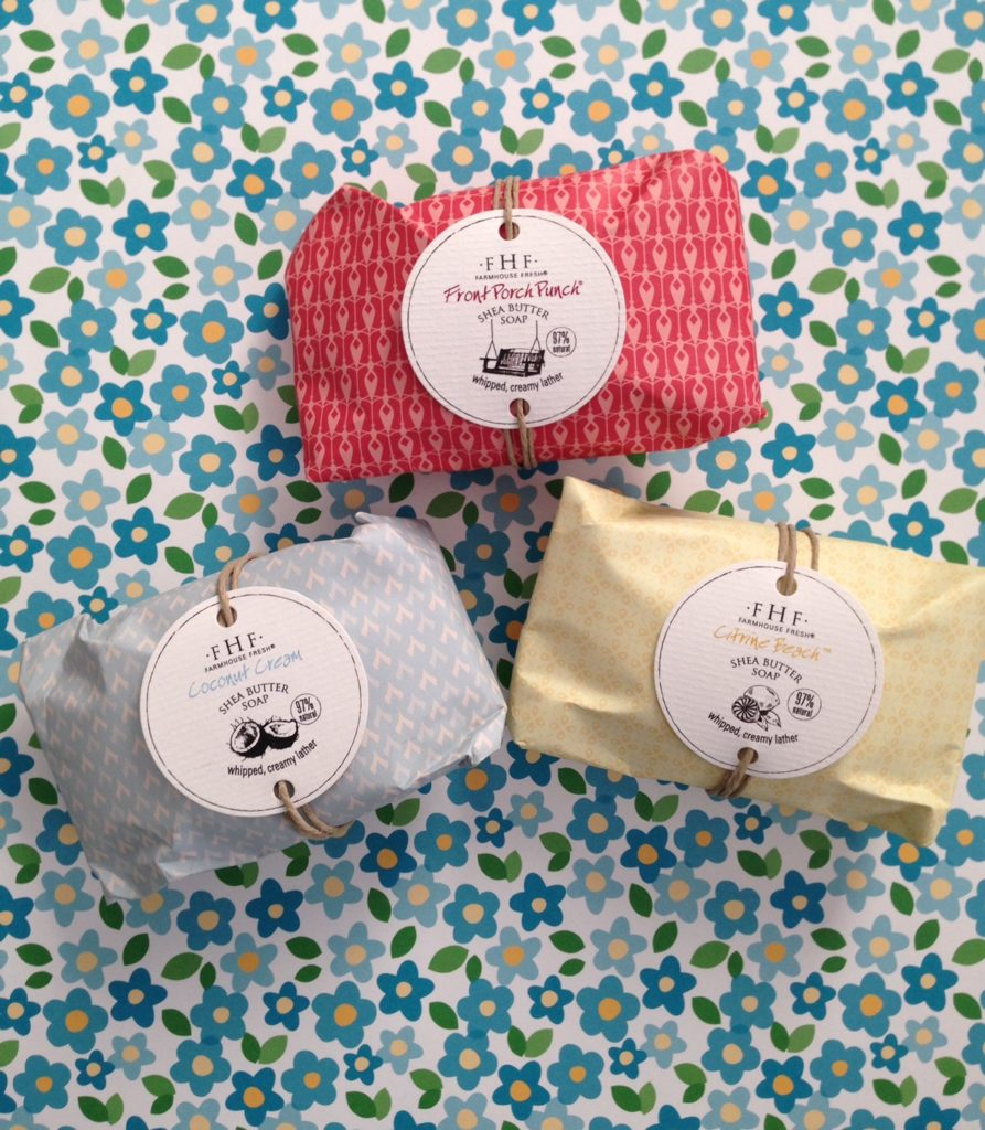 FarmHouse Fresh Shea Butter Soaps neversaydiebeauty.com