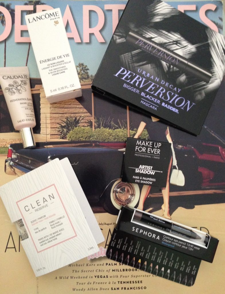 Sephora Play August 2016 The Eye Opener products in their packaging neversaydiebeauty.com