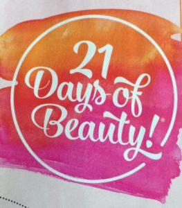 Ulta 21 Days of Beauty logo neversaydiebeauty.com