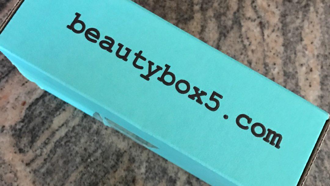 Beauty Box 5 shipping box neversaydiebeauty.com