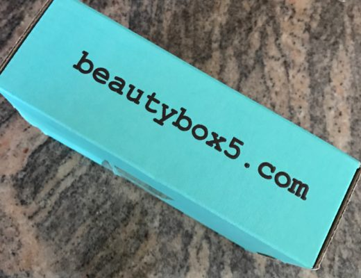 Beauty Box 5 shipping box neversaydiebeauty.com