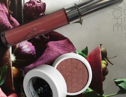 ColourPop Ultra Satin Lip in Calypso & Super Shock Shadow in Wattle neversaydiebeauty.com