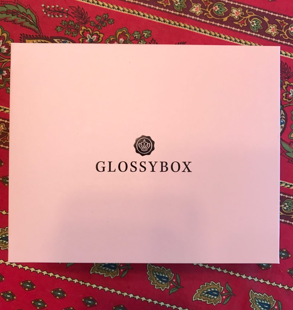 blush pink and black Glossybox October 2016 neversaydiebeauty.com