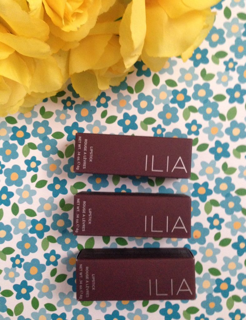 Ilia lipstick boxes neversaydiebeauty.com