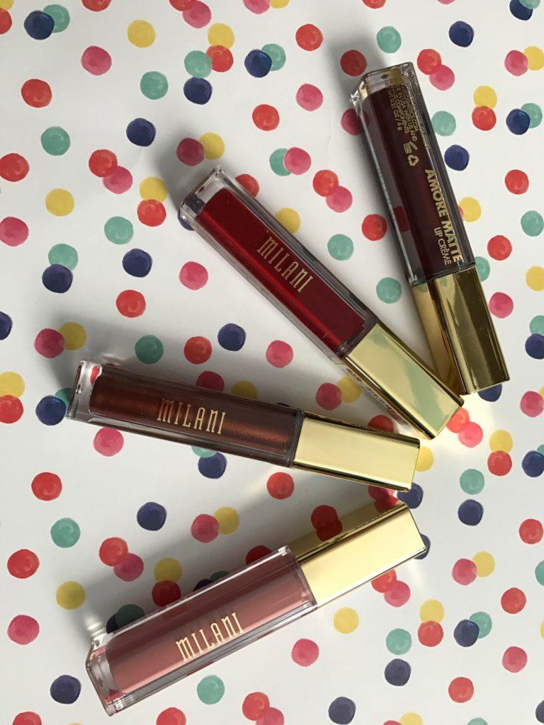 Milani Amore Matte Lip Creme 2016 shades neversaydiebeauty.com