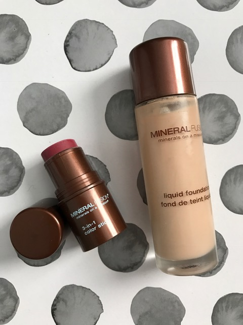 Mineral Fusion 3-in-1 Color Stick & Liquid Foundation neversaydiebeauty.com
