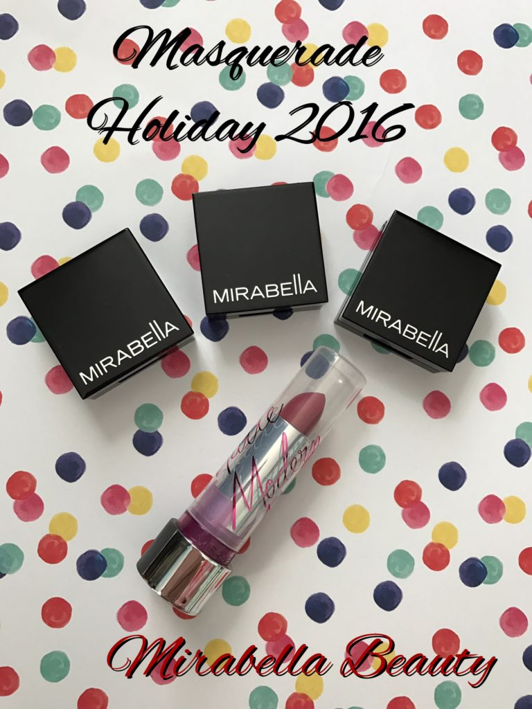 Mirabella Beauty Masquerade Collection Holiday 2016, eye shadow singles & matte lipstick neversaydiebeauty.com