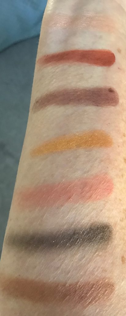 PUR Transformation palette swatches neversaydiebeauty.com
