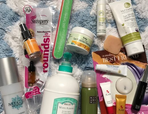 empty cosmetics used up in September neversaydiebeauty.com