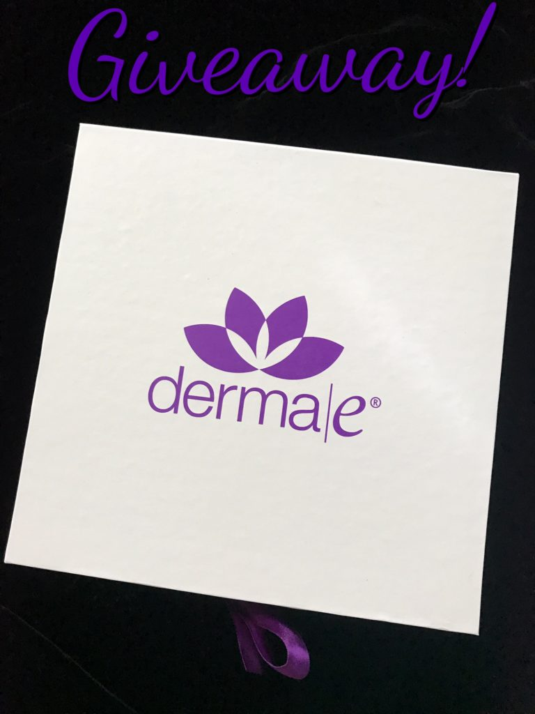 derma e boxtop and giveaway neversaydiebeauty.com