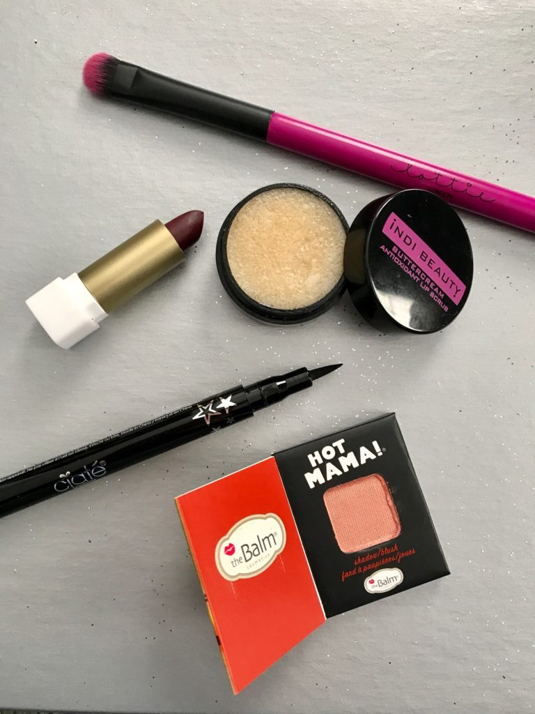 open items from ipsy Black Magic bag for October 2016 neversaydiebeauty.com