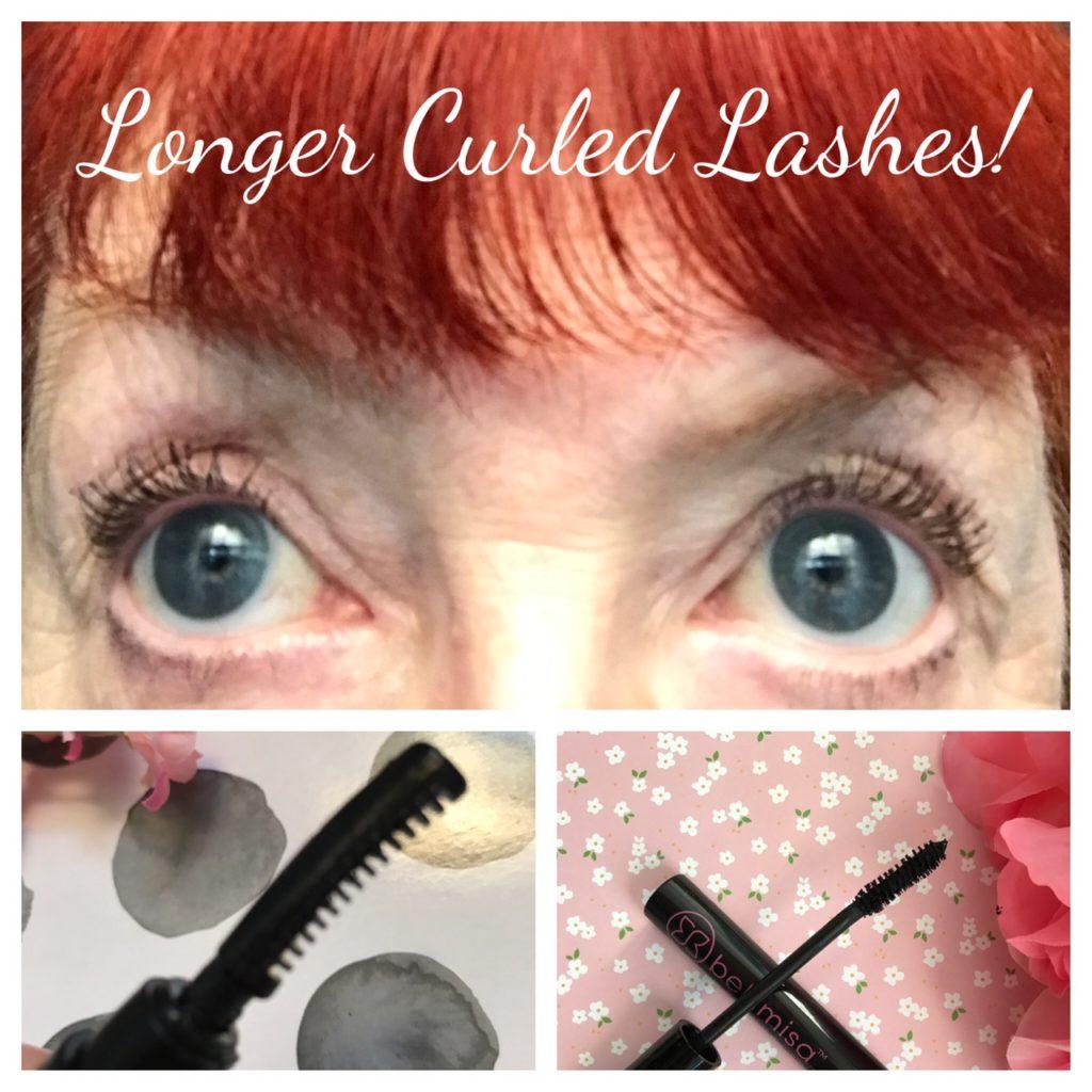 collage of Japonesque Heated Lash Curler, Bellimisa Mascara & my eyelashes neversaydiebeauty.com