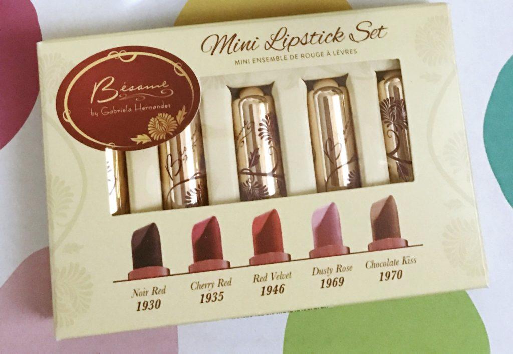 Besame Lipstick Minis neversaydiebeauty.com