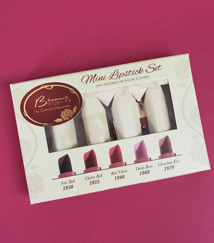 Besame Mini Lipstick Set