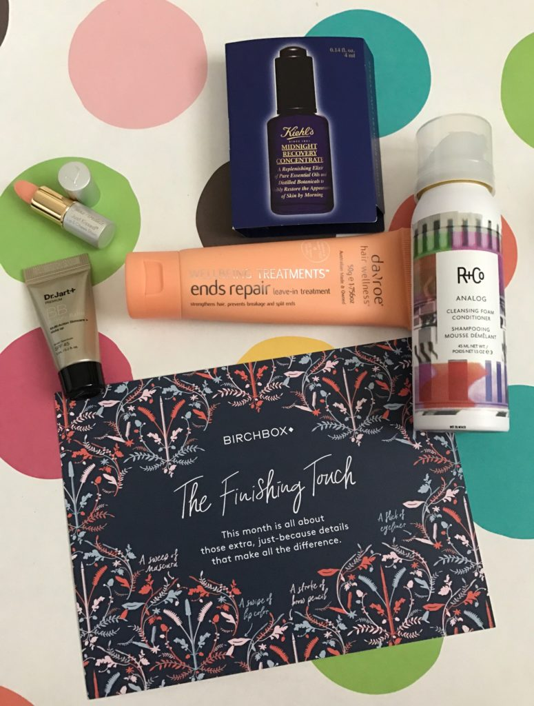 Birchbox goodies, November 2016 neversaydiebeauty.com