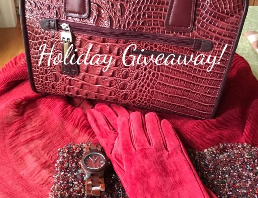 Evine giveaway: Pamela McCoy Suede Faux Fur Lined Long Gloves neversaydiebeauty.com