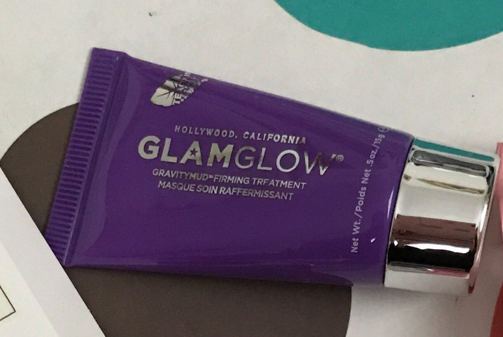 Glamglow GravityMud Firming Mask deluxe sample tube, neversaydiebeauty.com