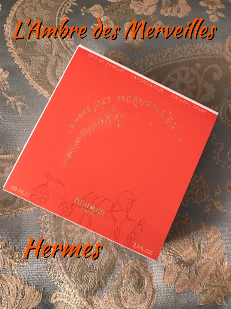 outer packaging Hermes L'Ambre des Merveilles neversaydiebeauty.com