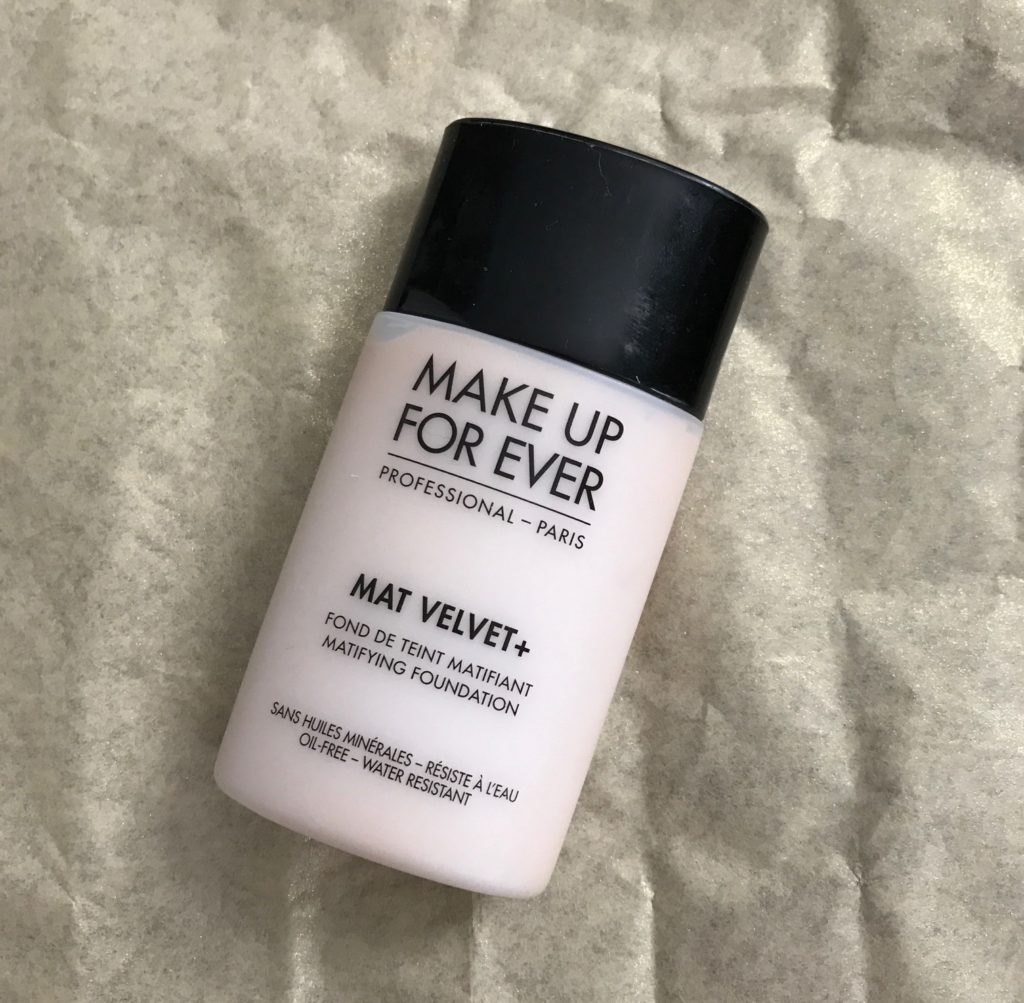 Make Up For Ever Mat Velvet+ Matifying Foundation neversaydiebeauty.com