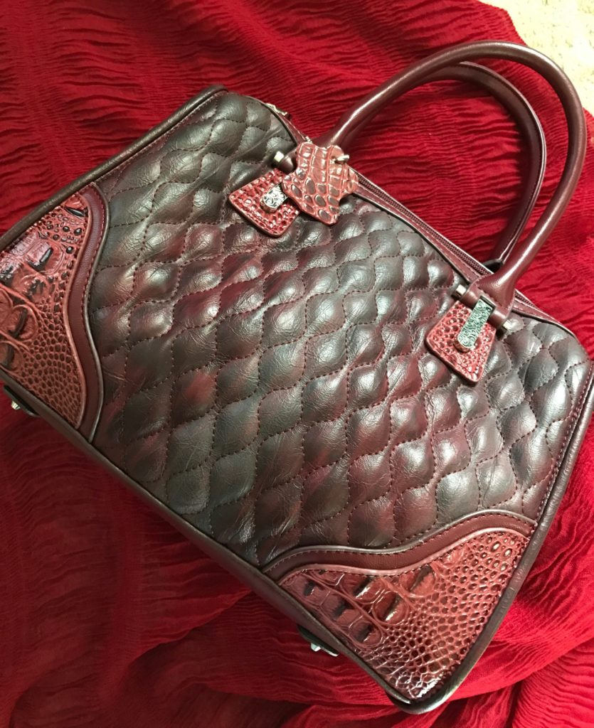 Madi Claire Arabella Quilted Satchel neversaydiebeauty.com