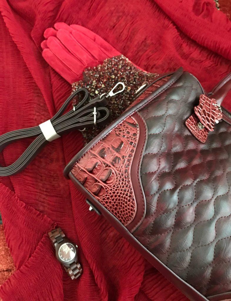Madi Claire Arabella satchel with detachable shoulder strap neversaydiebeauty.com