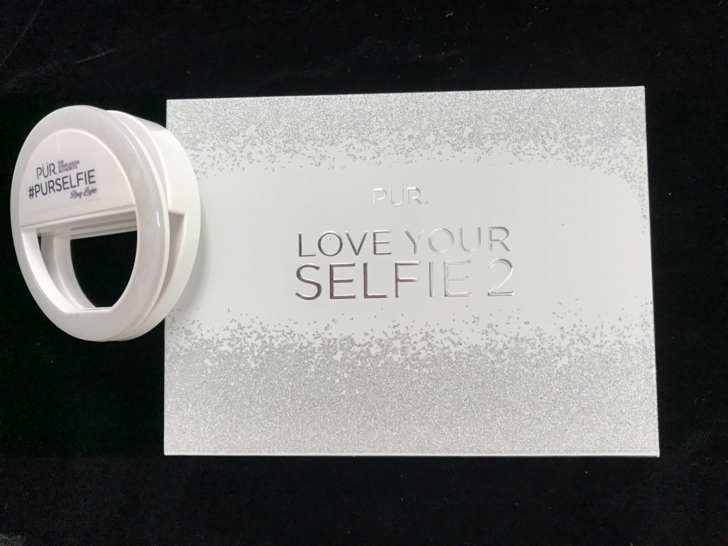 PUR Love Your Selfie 2 box with selfie ring neversaydiebeauty.com