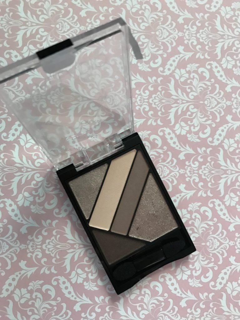 Palladio Silk FX Eyeshadow palette in Debutante, open to show pans neversaydiebeauty.com