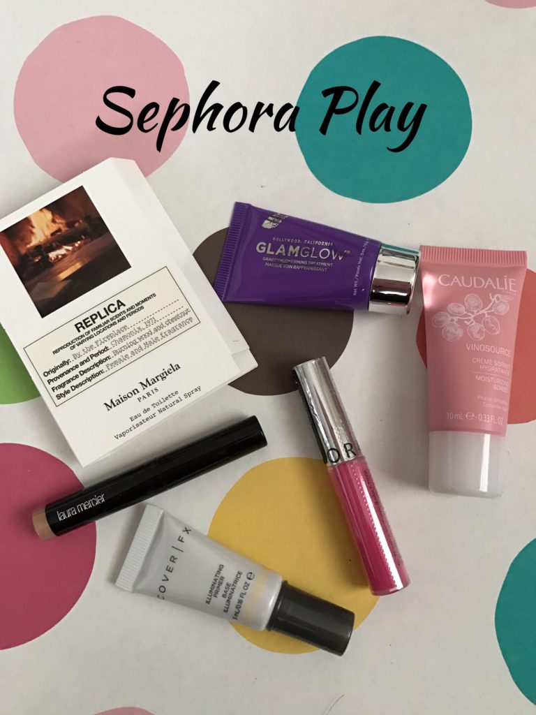 Sephora Play Glow-Getter goodies November 2016 neversaydiebeauty.com