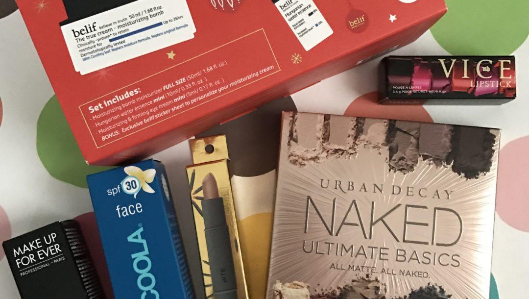 Sephora VIB Haul 11/16 neversaydiebeauty.com