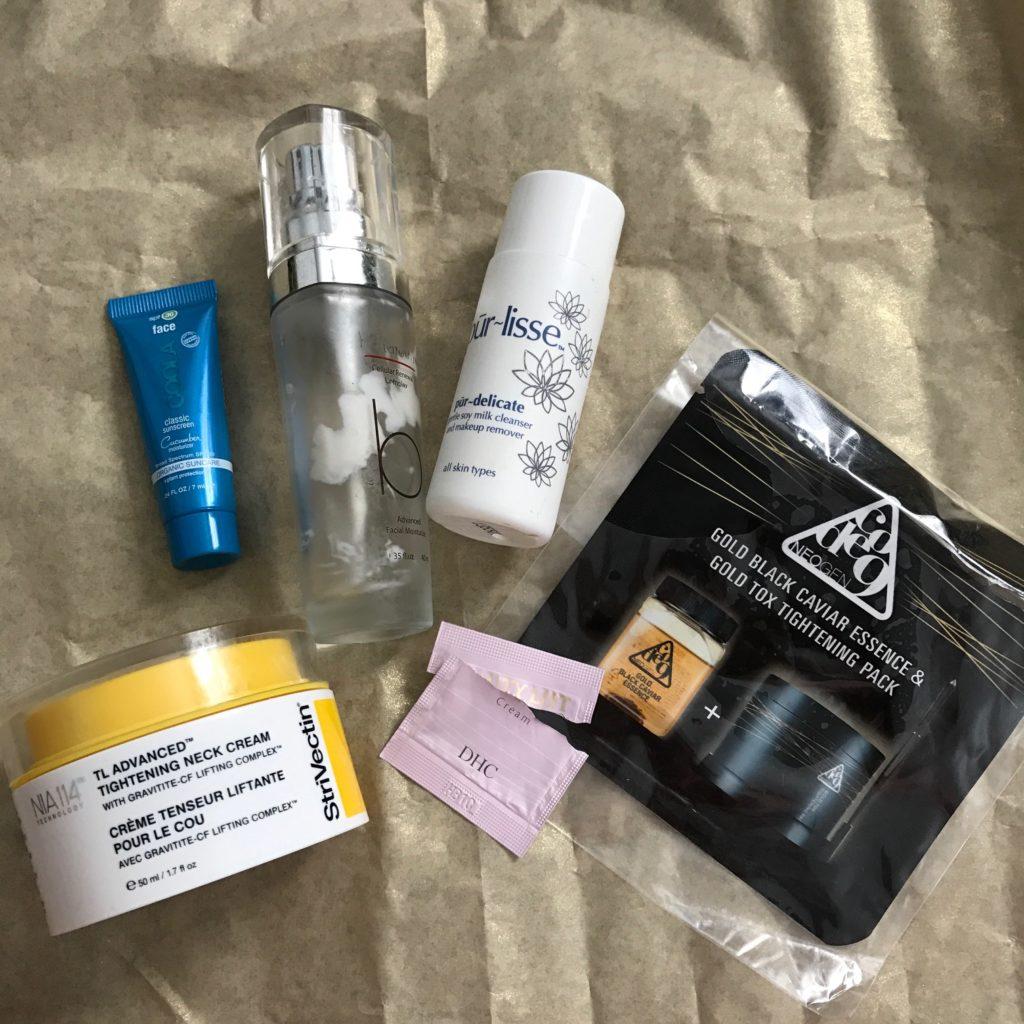facial skincare empties neversaydiebeauty.com