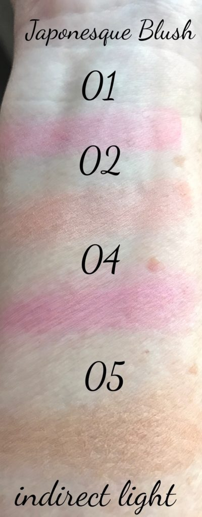 ndirect-light-swatches-Japonesque Velvet Touch blushes neversaydiebeauty.com