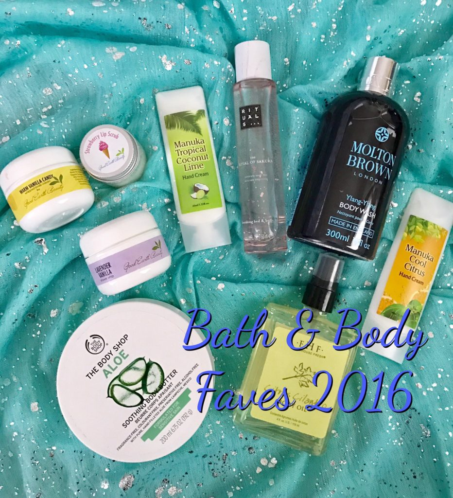 Bath & body favorites 2016, neversaydiebeauty.com
