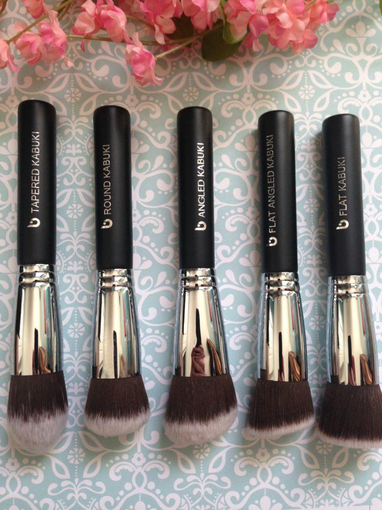 Beauty Junkees 5 Kabuki brushes, neversaydiebeauty.com