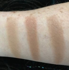 Beauty Junkees Contour Kit, contour swatches neversaydiebeauty.com