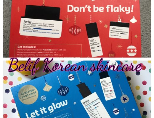 Belif Skincare from Korea: Don't Be Flaky and Let It Glow skincare kits neversaydiebeauty.com