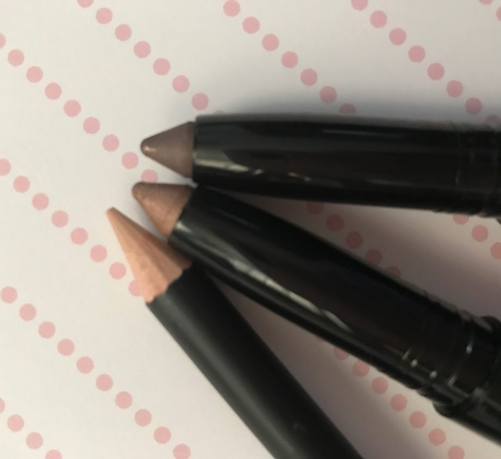 GloMinerals Bold Pursuit eyeshadow sticks & precision eyeliner pencil neversaydiebeauty.com