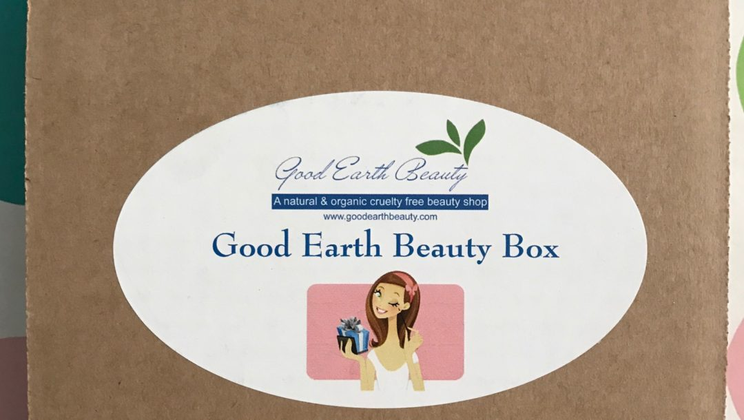Good Earth Beauty box neversaydiebeauty.com