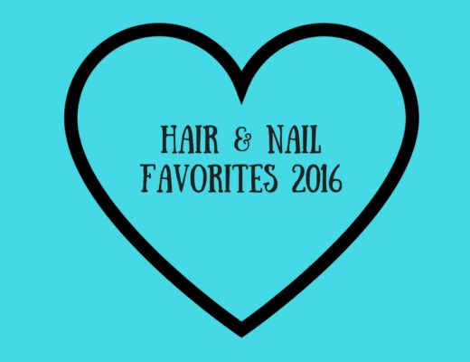 Hair & Nail Favorites 2016, neversaydiebeauty.com