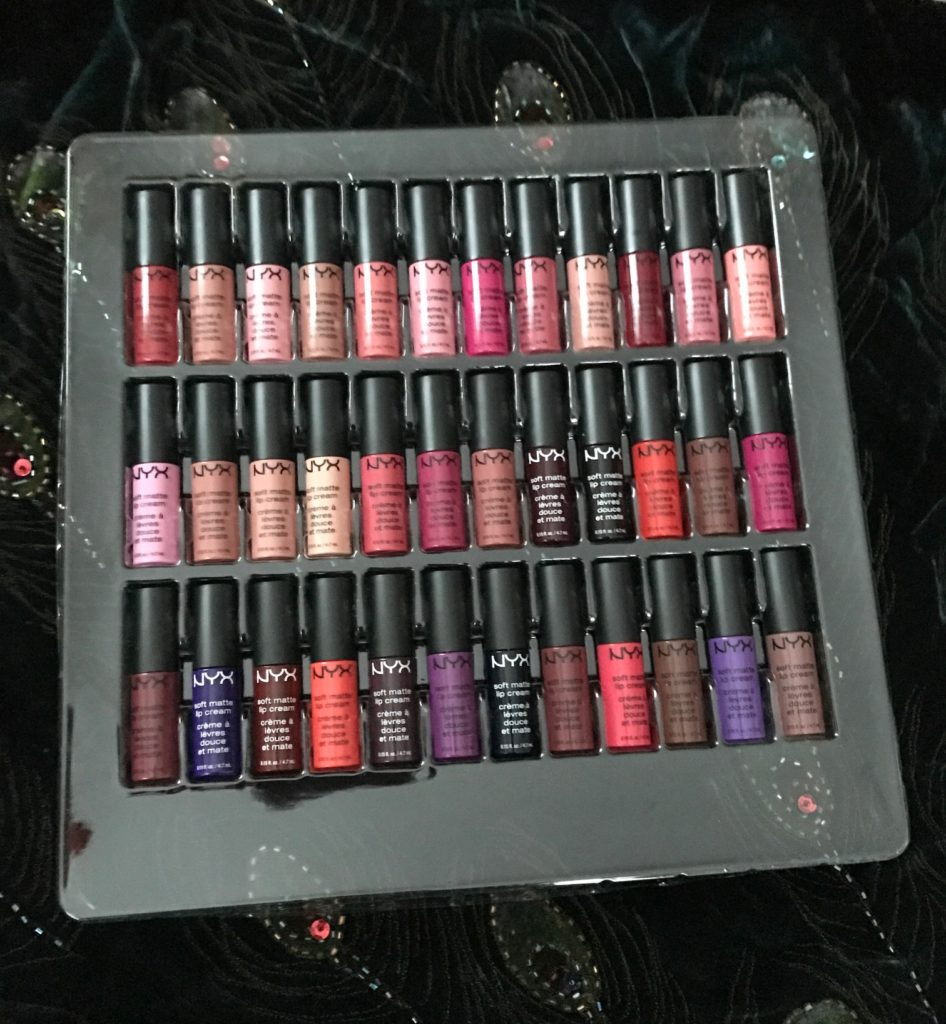 NYX Soft Matte Lip Cream Vault shades, neversaydiebeauty.com