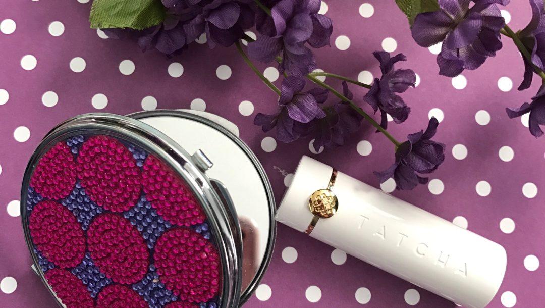 TATCHA Sunrise lipstick with mirror, neversaydiebeauty.com