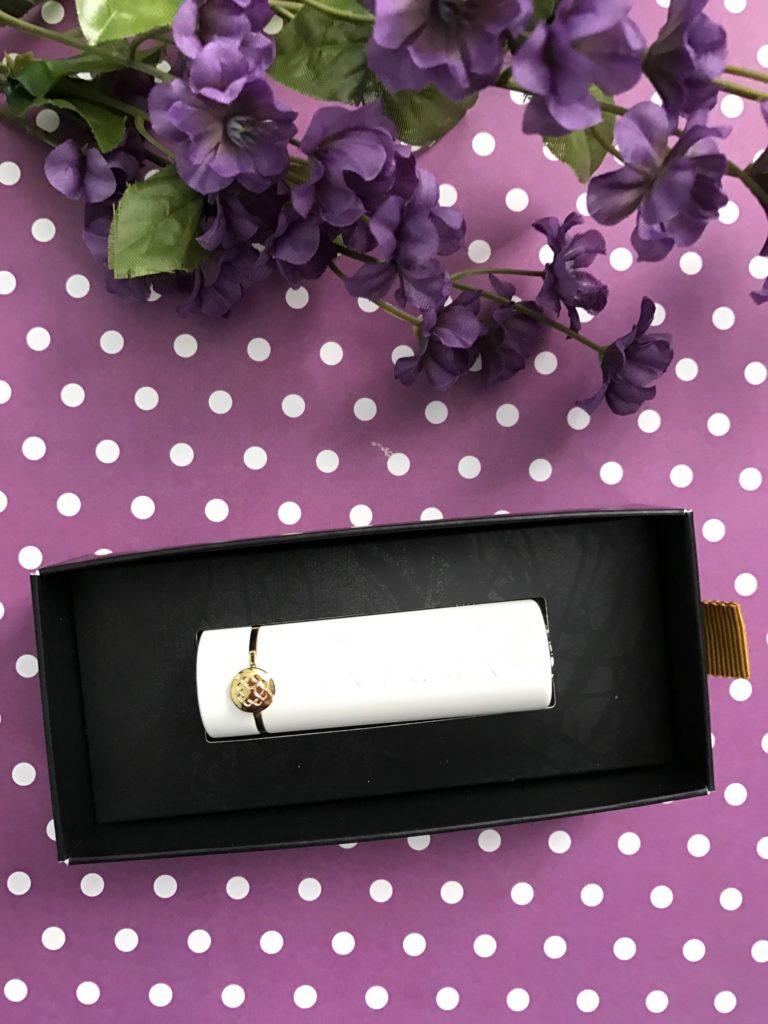 inner packaging for TATCHA Sunrise lipstick neversaydiebeauty.com