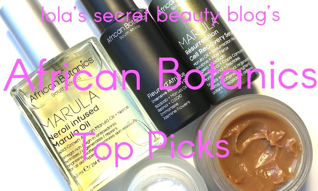 African Botanics Top Picks