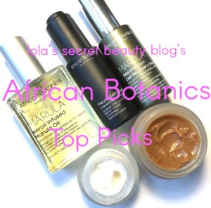African Botanics Top Picks