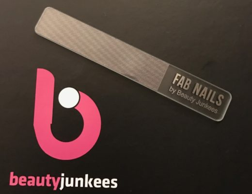 glass nail file: Beauty Junkees Fab Nails, neversaydiebeauty.com