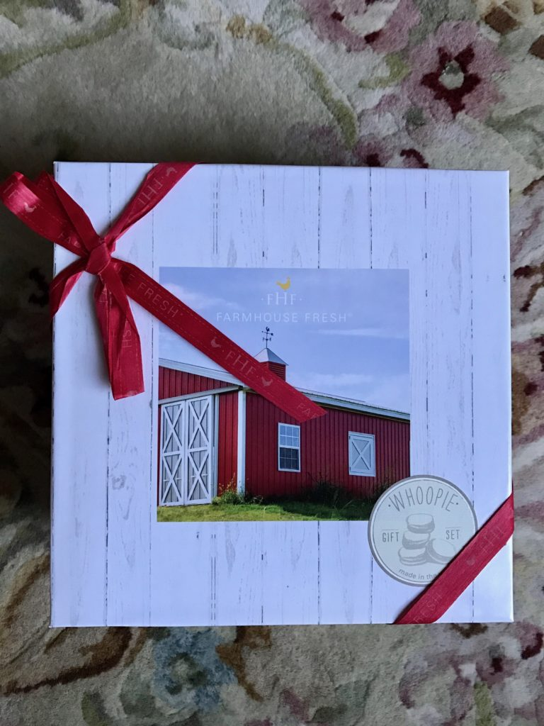 Farmhouse Fresh Whoopie Cream Gift Set, outer box, neversaydiebeauty.com