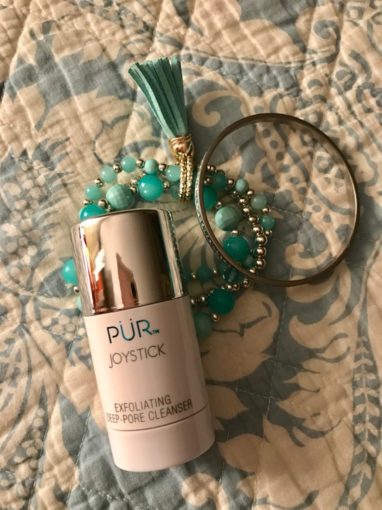 PUR Cosmetics Joystick Exfoliating Deep Pore Cleanser, tube, neversaydiebeauty.com