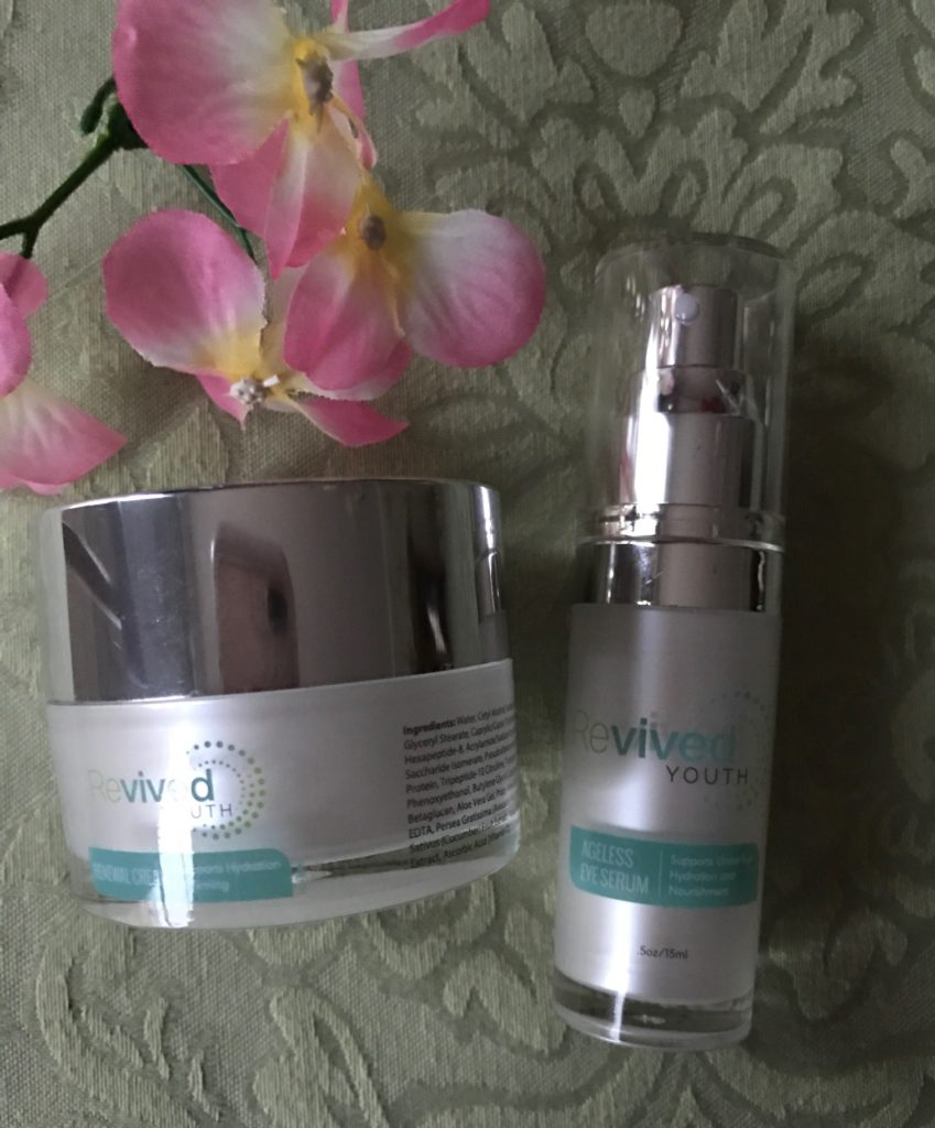 Revived Youth Renewal Cream and Eye Serum