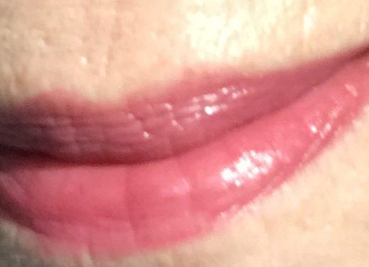 my lips wearing Zoya Lipstick in shade Paisley, taken in sunlight, neversaydiebeauty.com